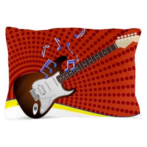Cool guitar pillow cases