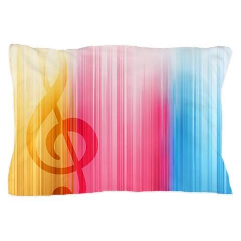 Stylish bright pillow case
