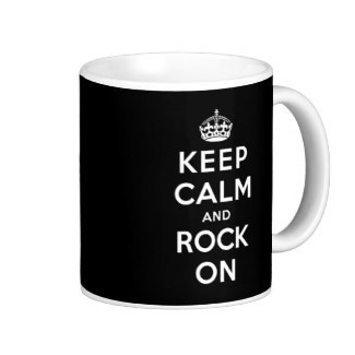 Coffe mug for the rocker or rock music fan