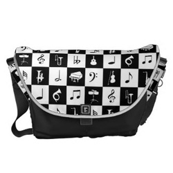 Cool vintage look messenger bag