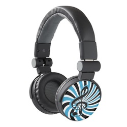 Retro style designer headphones for iphone