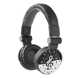 Art deco style iphone headphones