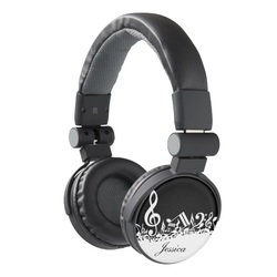Personalised stylish music themed headphones